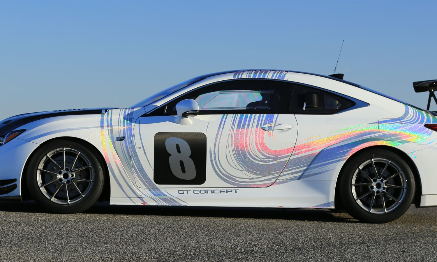 Lexus to Compete in 2015 Pikes Peak International Hill Climb with All-New RC F GT Concept