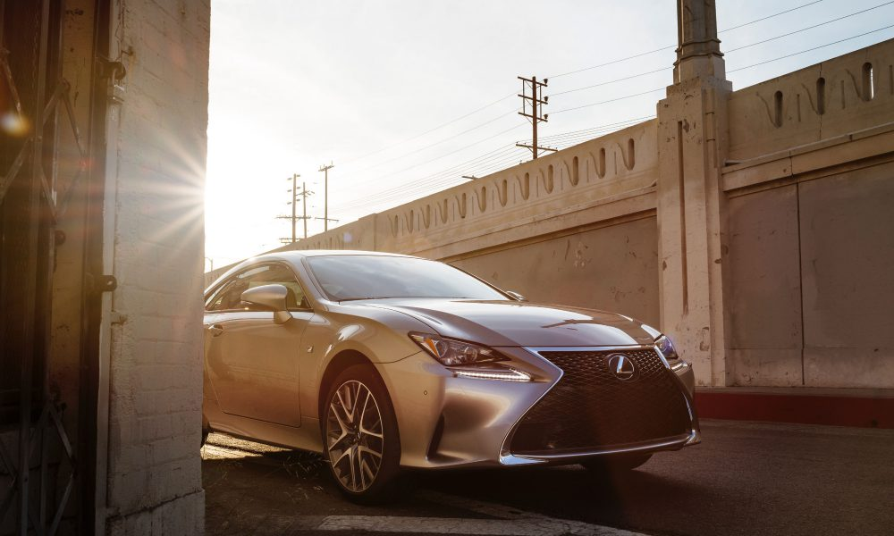 The Lexus RC 350 F SPORT Dazzles its First U.S. Audience at the New York International Auto Show