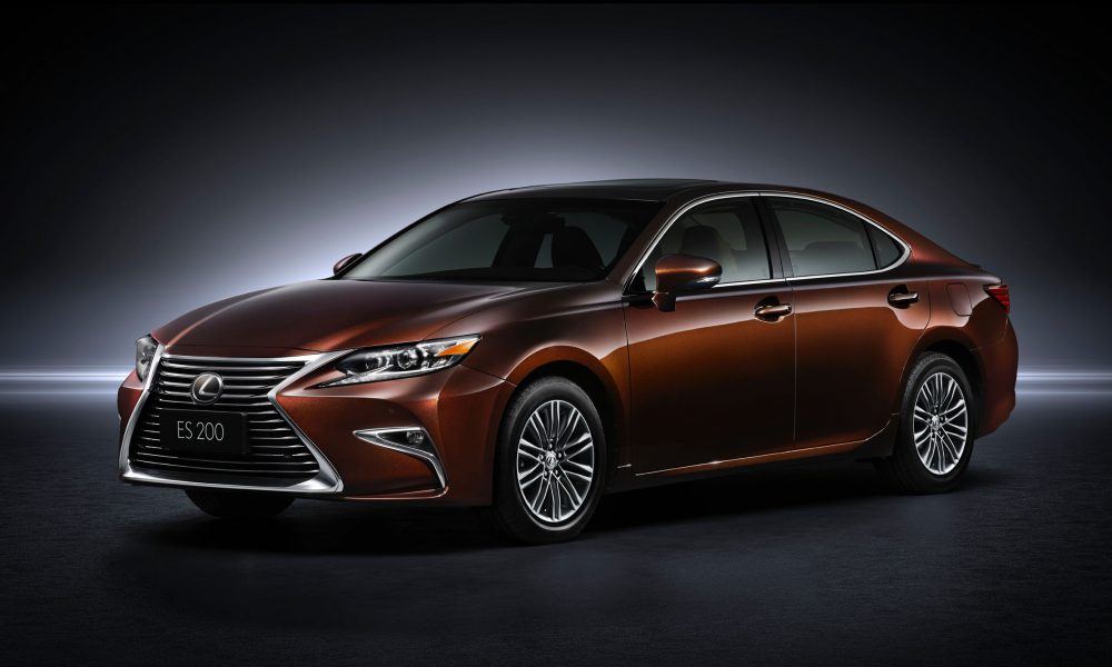 Refreshed 2016 Lexus ES Fuses Striking Design with Refinement and Safety at Shanghai International Motor Show