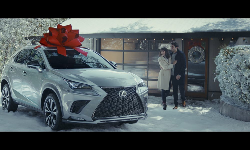 """Lexus' """"December to Remember"""" Campaign Proves the Magic of the Classic Red Bow  Makes Memories Year Round"""