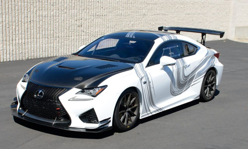 Lexus RC F GT Concept to Appear at Long Beach