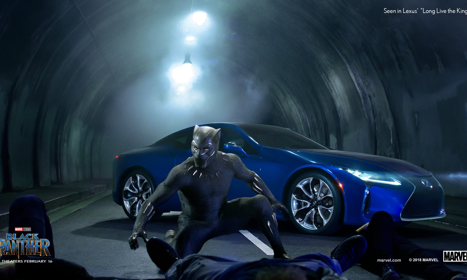 """Lexus Releases Extended Version of Super Bowl Spot with Marvel Studios' """"Black Panther"""""""