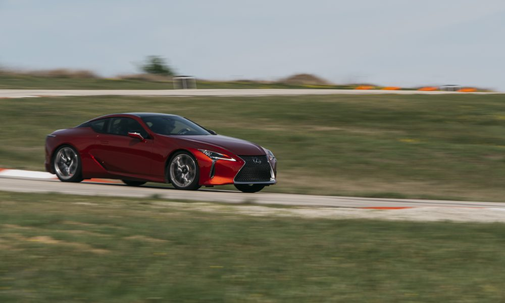 """Lexus LC 500 Takes Top Honors  as the 2018 """"Car of Texas"""" at Texas Auto Writers Auto Roundup"""