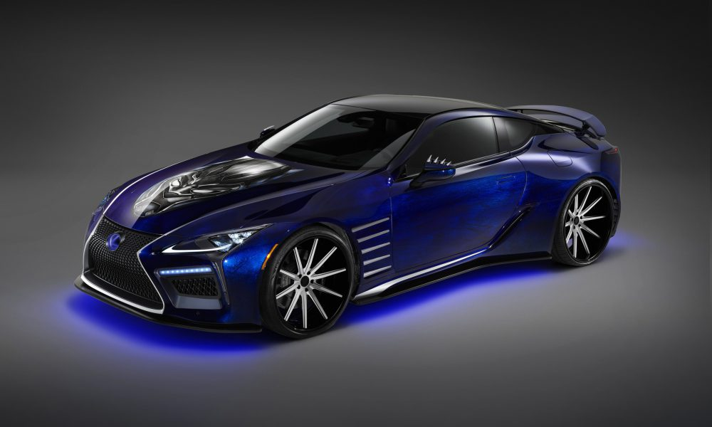"""Lexus Introduces Two New Vehicles Inspired by Marvel Studios' """"Black Panther"""" Ahead of SEMA 2017"""