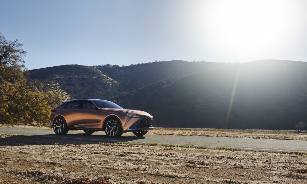 Lexus Carves Out a New Flagship Luxury Crossover with Lexus LF-1 Limitless Concept