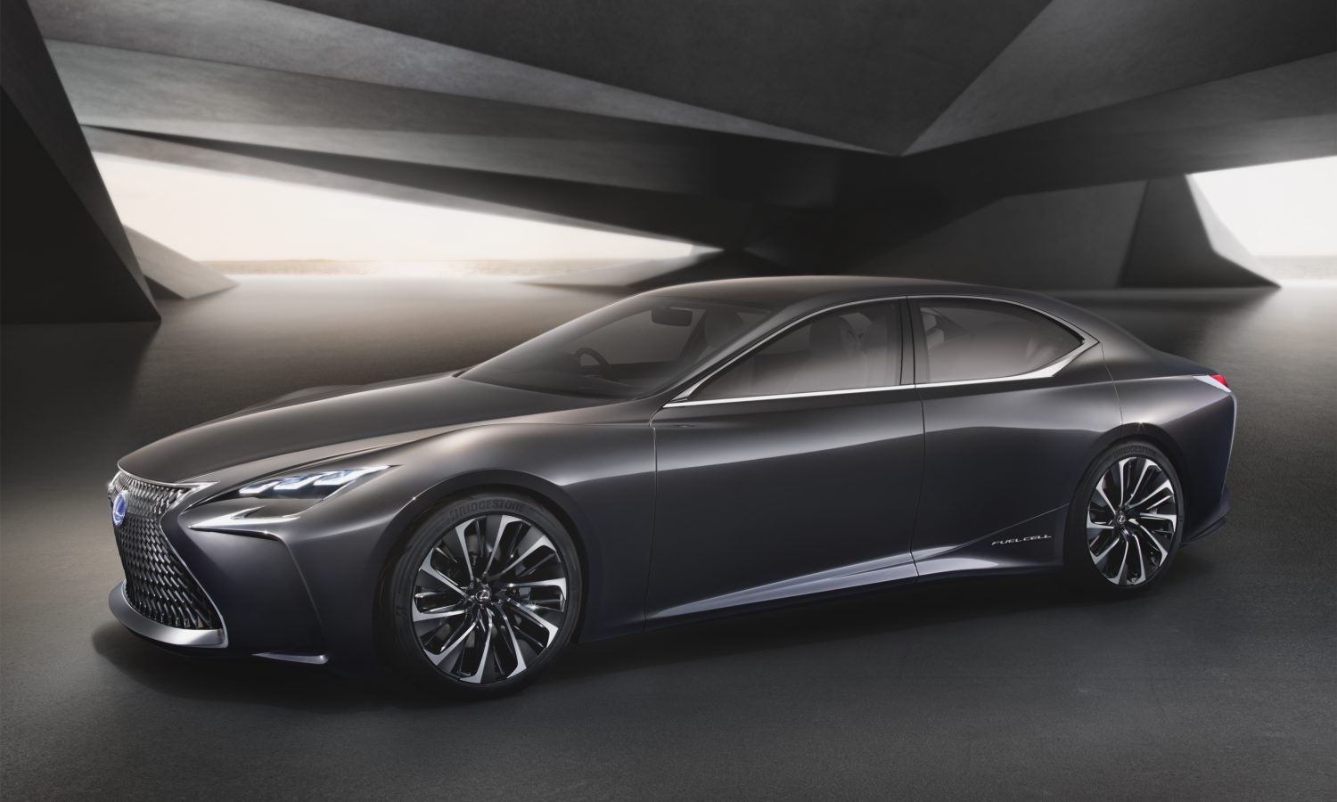 Lexus LF-FC Flagship Concept Revealed at the Tokyo Motor Show