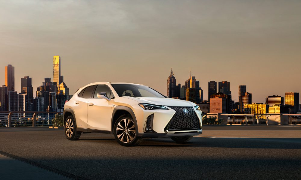 Revealed: First Official Image and Video of the UX, the First Urban Crossover from Lexus