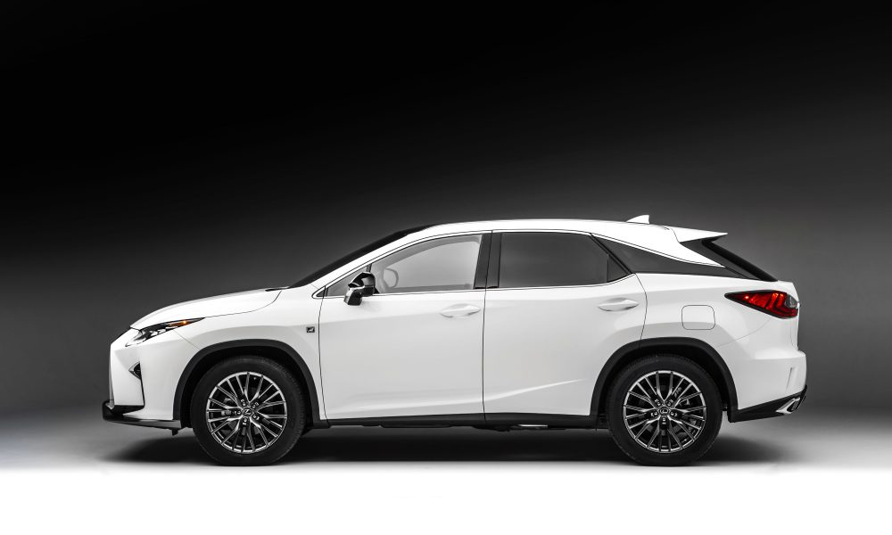 The All-New 2016 Lexus RX Makes Global Debut at the New York International Auto Show