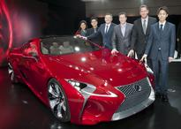Lexus LF-LC 2+2 Hybrid Sport Coupe Concept Receives 2012 EyesOn Design Award