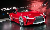 Lexus Unveils Sleek Hybrid 2+2 Sport Coupe Design Concept at North American International Auto Show