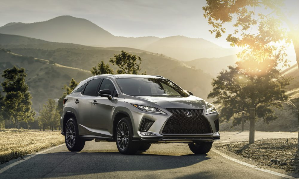 The Original Luxury Crossover: 2020 Lexus RX and RXL Deliver Connectivity, Advanced Safety Standard