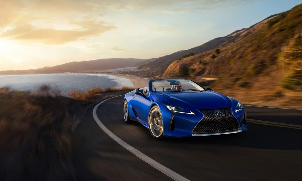 Lexus Tees Up New Releases for Pebble Beach Concours d'Elegance