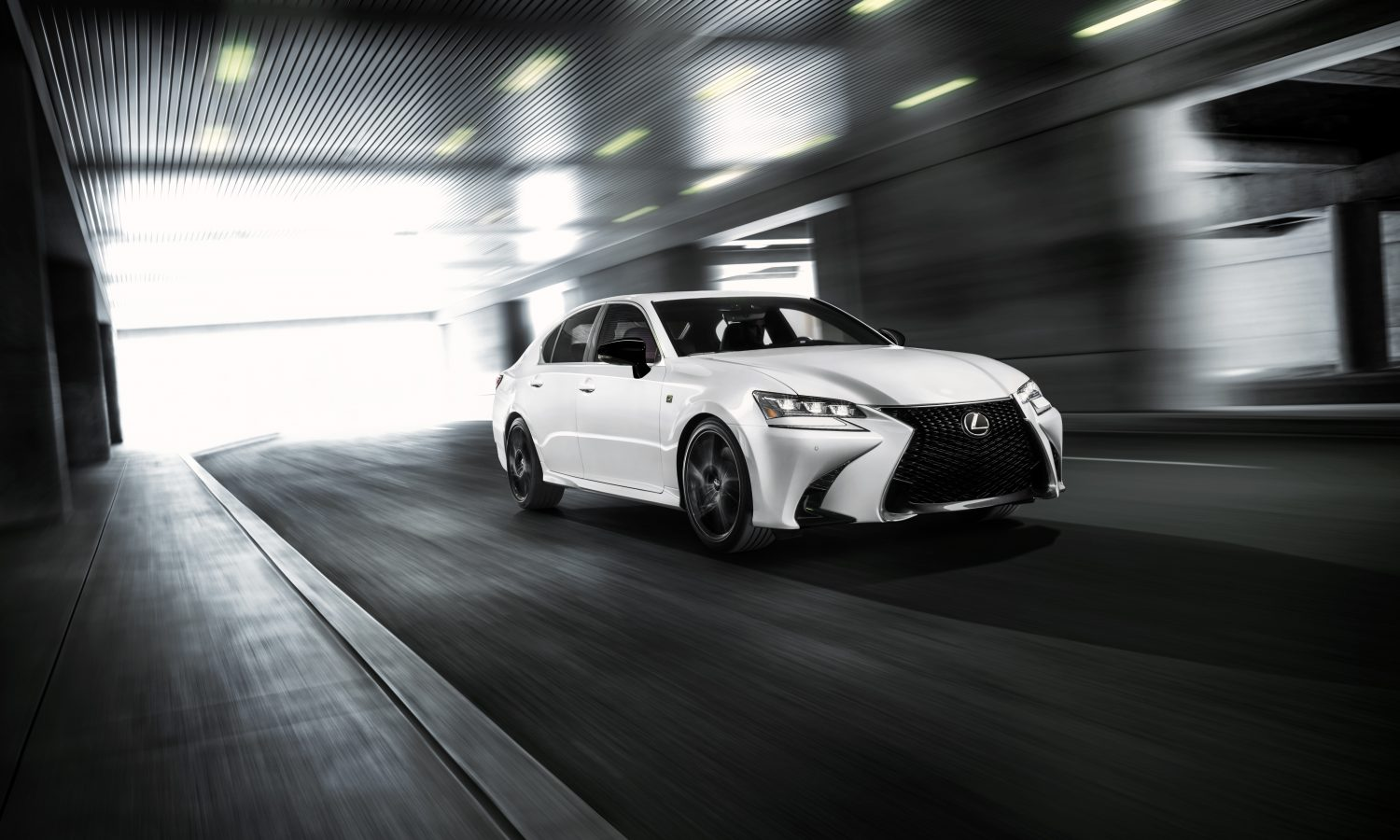 """LEXUS CRAFTS THE """"BEST EVER"""" GS IN<br>BLACK LINE SPECIAL EDITION MODEL"""