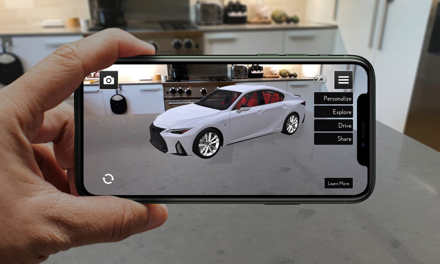 Lexus Reveals 'Lexus AR Play' App to Launch New 2021 IS