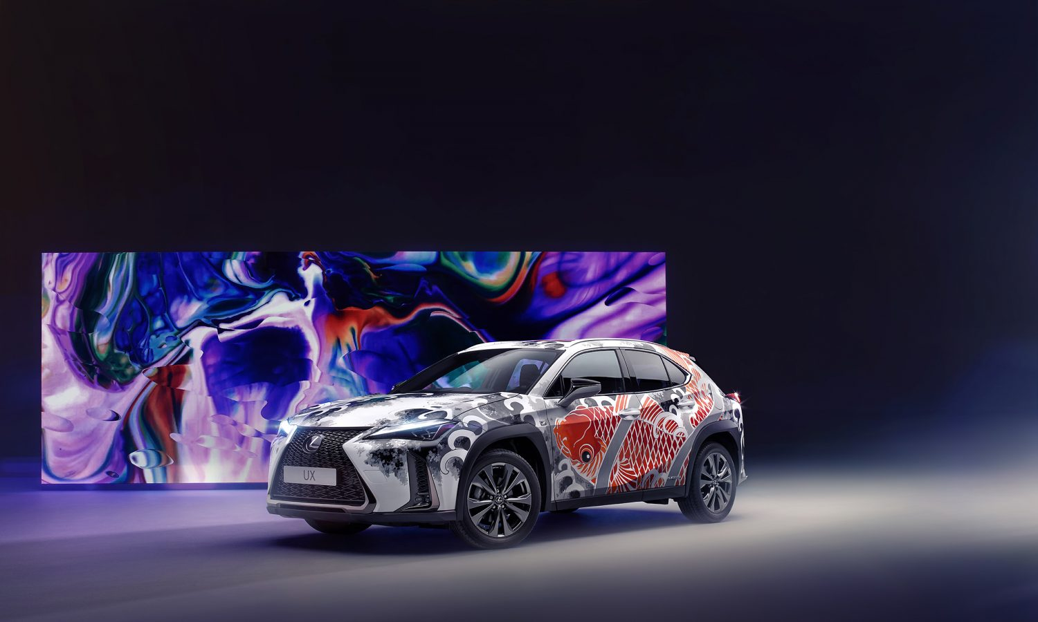 """Ground-breaking Tattooed Lexus UX Offers the Chance to """"Ink Big"""""""