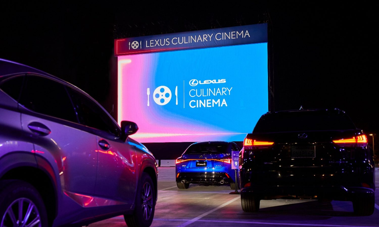 Lexus Culinary Cinema Elevates Drive-In Theater with Gourmet Dining Experience