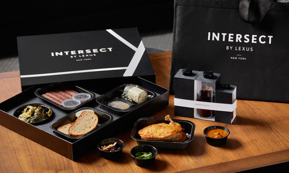 INTERSECT BY LEXUS-NYC TO OFFER DINE-AWAY AND DELIVERY FROM  RESTAURANT-IN-RESIDENCE, THE GREY