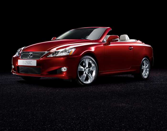 2009 Lexus IS Coupe Convertible Edition