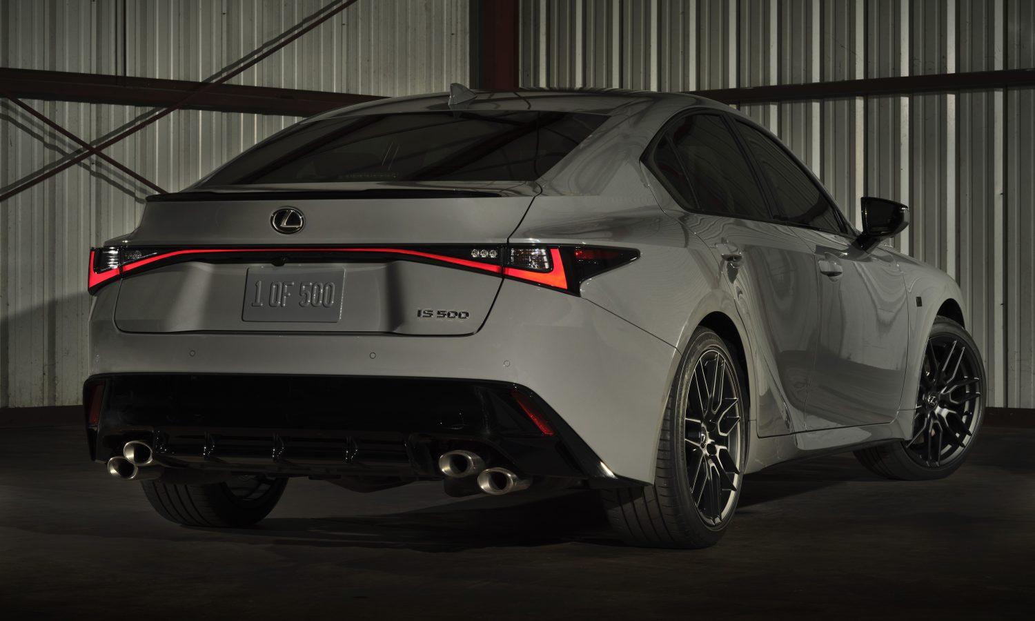 2022 LEXUS IS 500 F SPORT<br> Performance Launch Edition:<br> IS 500 Performance with a <br>Touch of Distinction