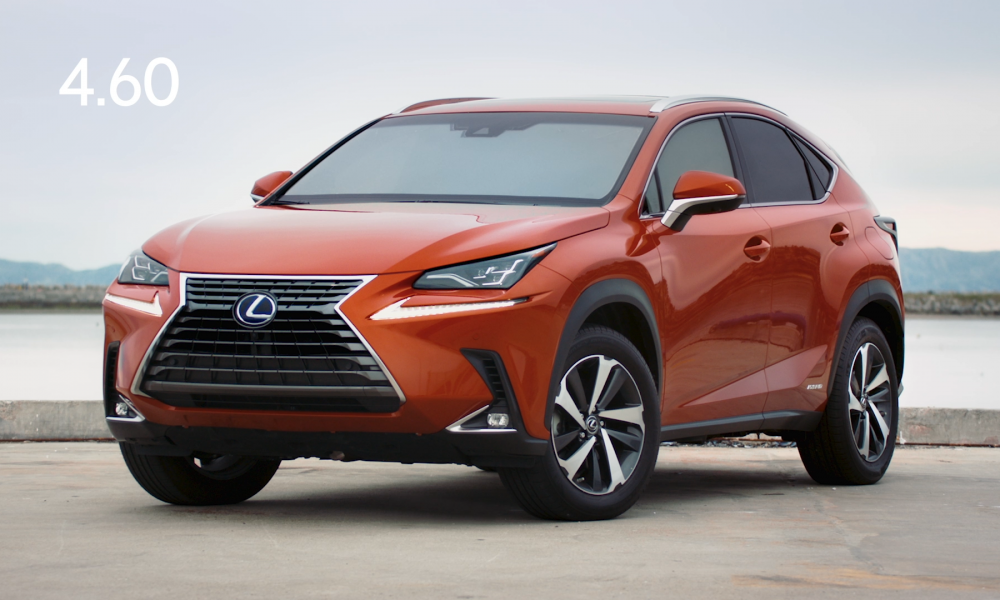 Lexus Can Change Your Mind About Texting and Driving in 4.6 Seconds