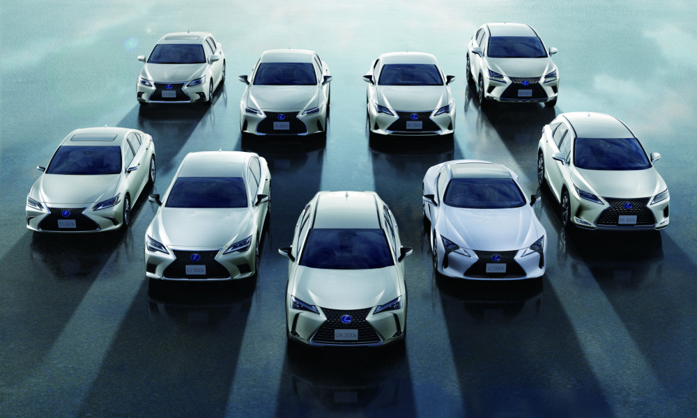 LEXUS Achieves Cumulative Global Sales of 2 Million Electrified Vehicles
