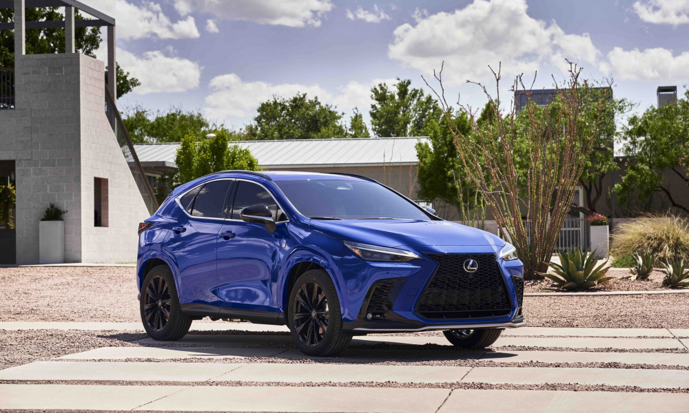 Lexus Charges Ahead on Electrified Path with First-Ever Plug-In Hybrid