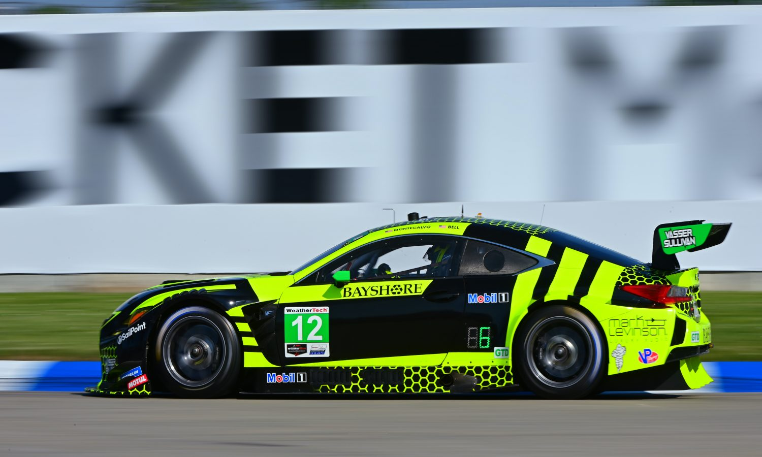 Lexus RC F GT3 Entries Earn Top-Five Finishes at Belle Isle
