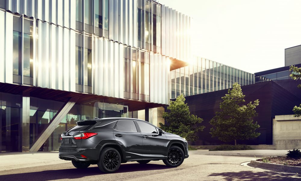 Lexus RX 350 and 450h Black Line Are Back with a Fresh Look for 2022